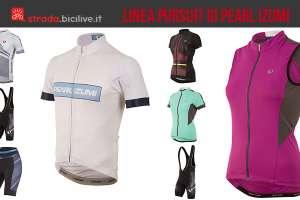 acluni capi della linea di abbigliamento da ciclismo Pursuit di Pearl Izumi