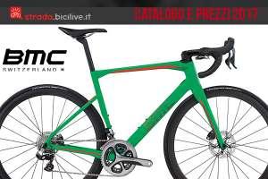 Catalogo e listino prezzi bici da strada BMC 2017