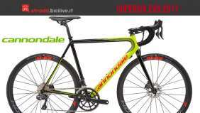 La gamma SuperSix Evo 2017 di Cannondale