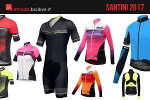 Copertina dell'articolo dedicato al catalogo dell'abbigliamento estivo e invernale Santini SMS 2017