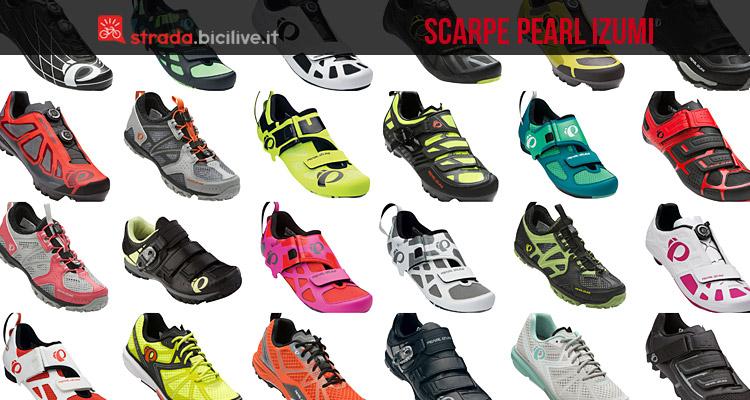 promo code b5281 b8ded Scarpe bici Pearl Izumi da strada, mtb e triathlon uomo e donna