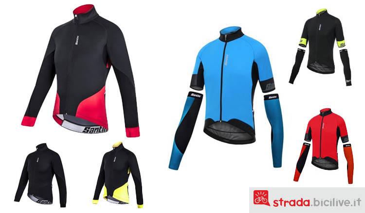 Catalogo Santini SMS modelli di abbigliamento invernale giacca Beta e Beta 2.0 gamma 2017