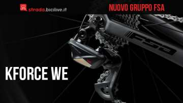 Nuovo cambio elettronico wireless FSA K Force We