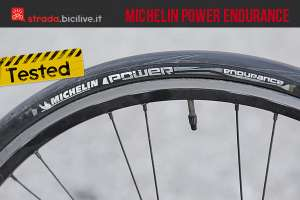 il copertoncino antiforatura Michelin Power Endurance dopo il test