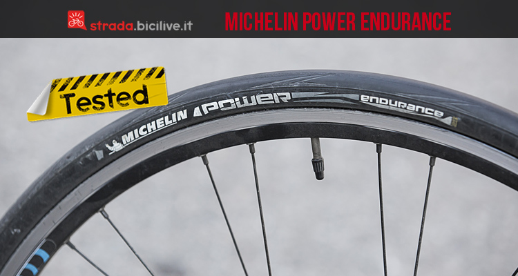 il copertoncino antiforatura Michelin Power Endurance dopo il test