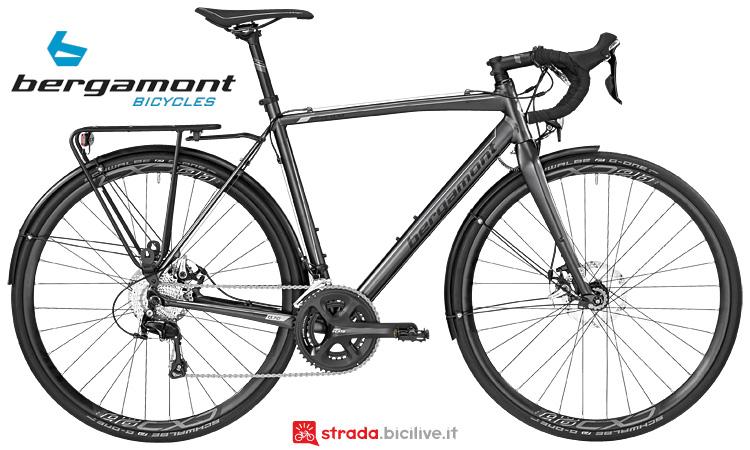 bici gravel Cyclocross Prime CX RD dal catalogo Bergamont 2017