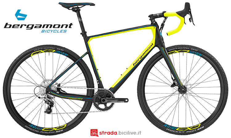 Bergamont Cyclocross Prime CX Team in carbonio