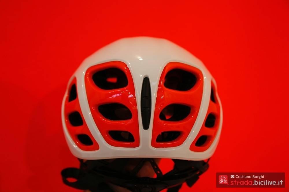 visione posteriore casco aerodinamico suomy sfera