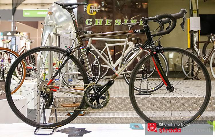 Chesini XCr 925 bici in carbonio