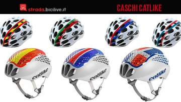 caschi da ciclismo Catllike distribuiti da Vittoria