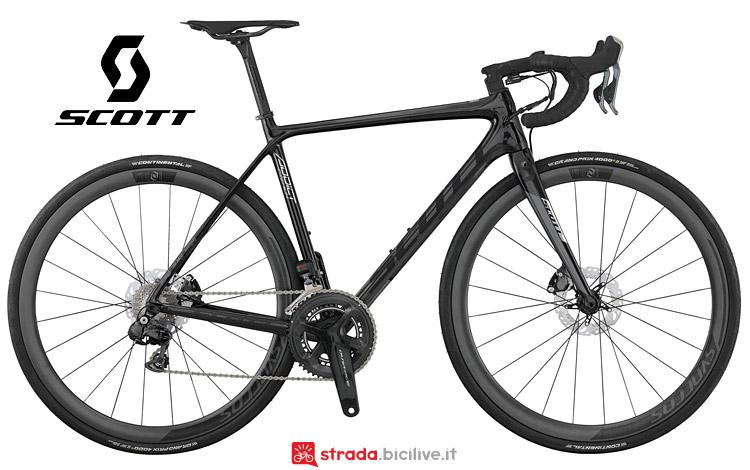 bici da corsa 2017 Addict Premium disc Di2