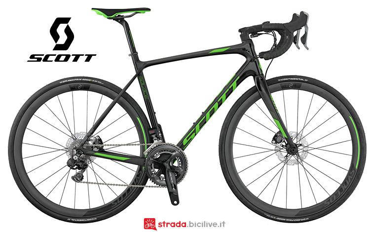 bici da corsa con freni a disco Scott Solace Premium disc