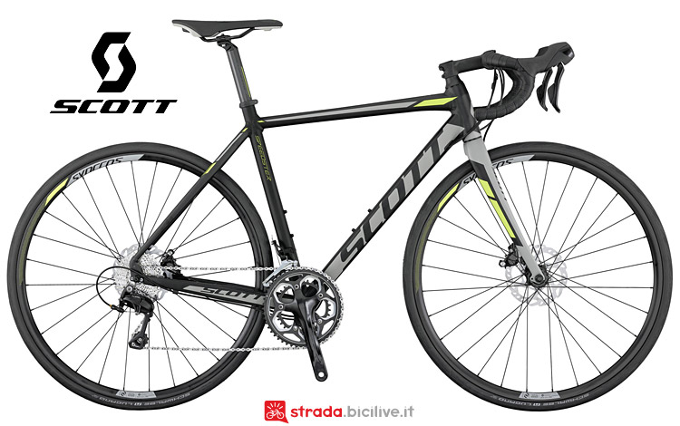 bici da corsa Scott Speedster 10 disc: