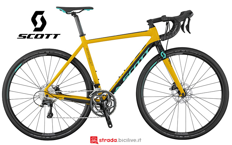 Scott Speedster Gravel 10 disc dal listino 2017