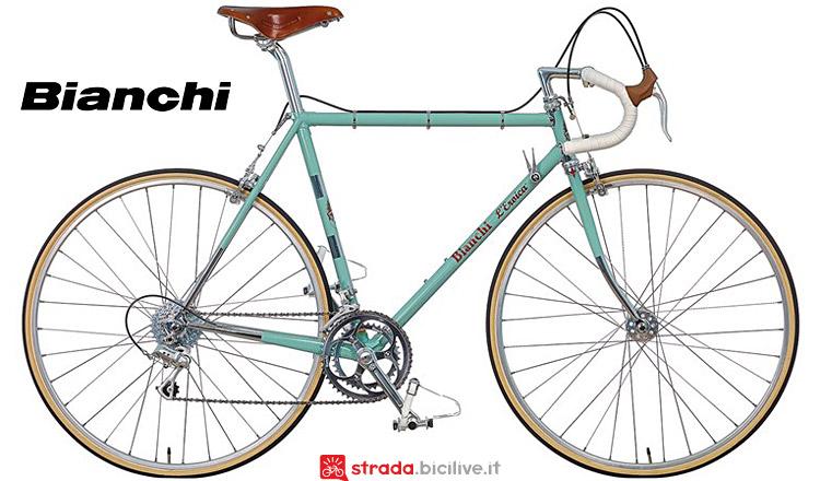 Bicicletta da strada vintage Bianchi Eroica