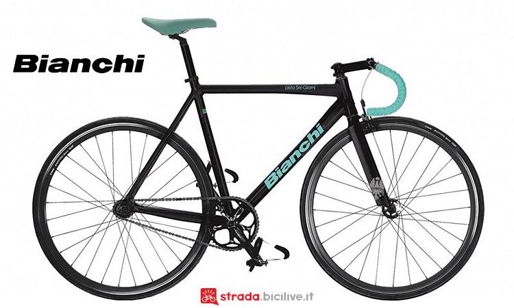 bici fixed gear Bianchi Pista Sei Giorni