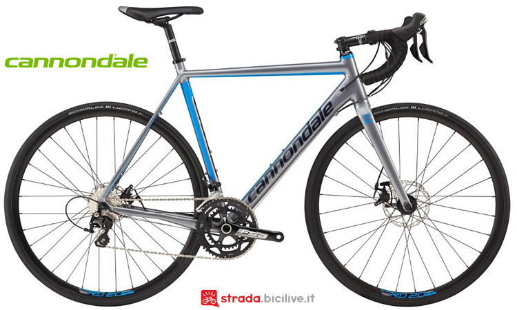 bici da strada Cannondale CAAD Optimo 105 Disc