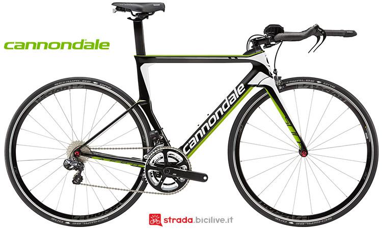 bici da triathlon Cannondale Slice Carbon Ultegra Di2
