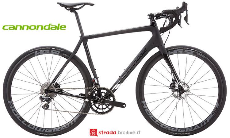 bici da endurance Cannondale Synapse Hi-Mod Disc Black Inc.