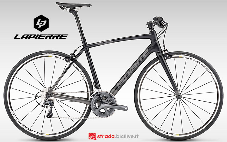 bici con telaio in carbonio Lapierre Shaper 600 Carbon