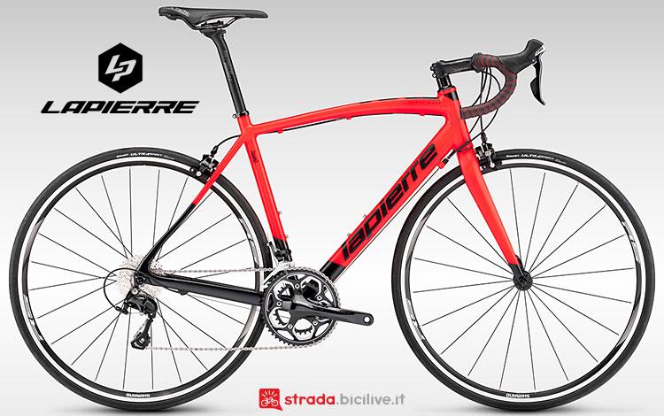 bici con telaio in alluminio Lapierre Audacio 500