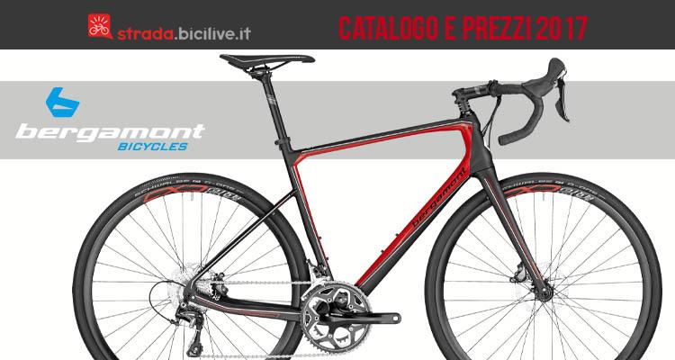 catalogo e listino prezzi bici da corsa Bergamont