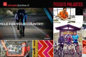 tessuti per l'abbigliamento da ciclismo Polartec
