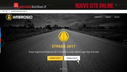 nuovo sito cerchi e ruote Ambrosio online