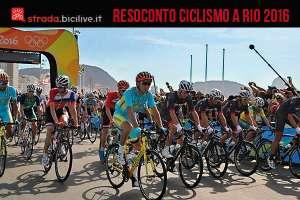 Il resoconto sul ciclismo a Rio 2016