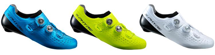 colori delle scarpe da bici Shimano S-Phyre RC9