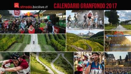 calendario delle granfondo di ciclismo 2017