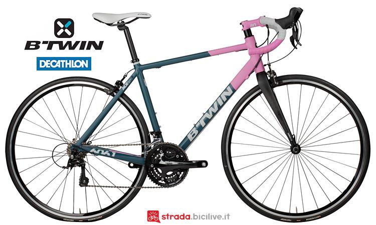 B'twin Triban 520 bici da corsa da donna