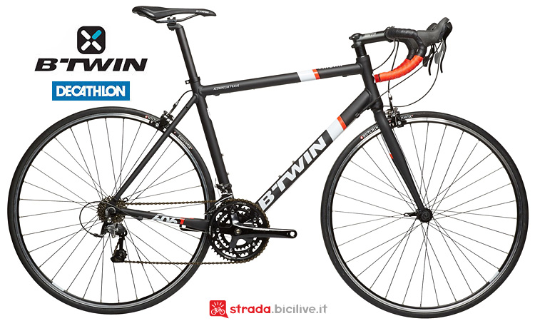 bici da corsa in alluminio decathlon Triban 500