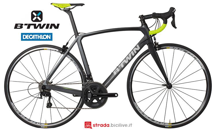 Ultra 700 bici da corsa in carbonio Decathlon