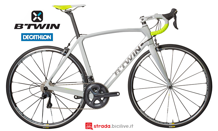bici B'Twin Ultra 720 CF dal catalogo decathlon 2017
