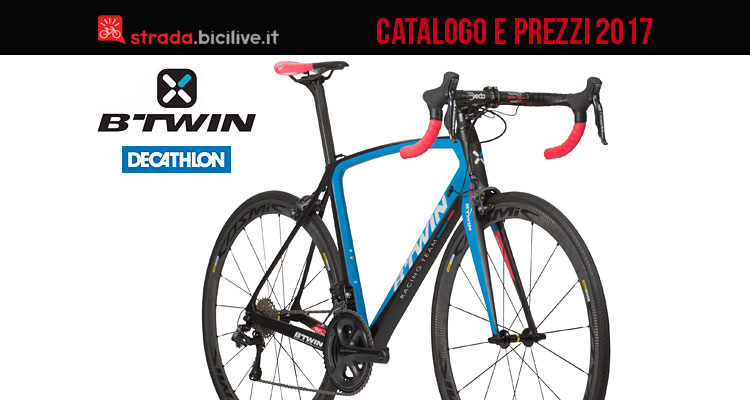 catalogo e listinon prezzi 2017 b'twin by decathlon