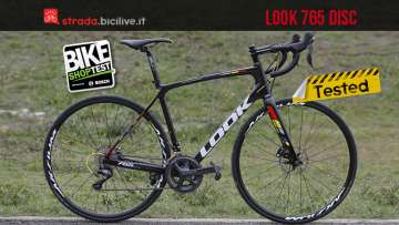 Bdc look 765 disc provata al bike shop test di bologna