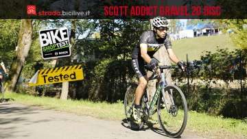 Foto della gravel bike Scott Addict Gravel 20 Disc