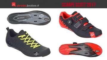 scarpe da ciclismo strada scott 2017