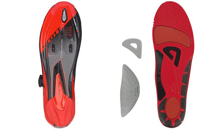 suola e soletta delle scarpe da ciclismo Scott Road Premium 2017