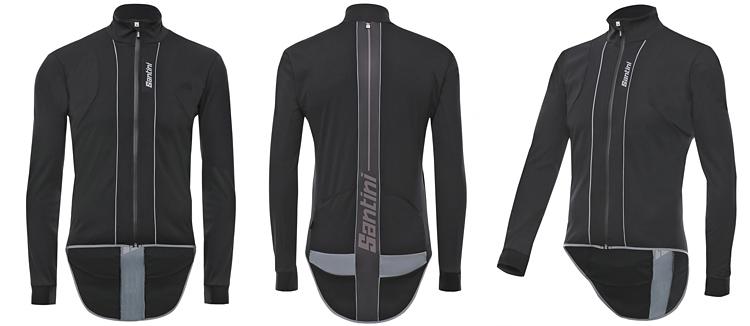 maglia da ciclismo antipioggia e antivento SMS Santini Reef