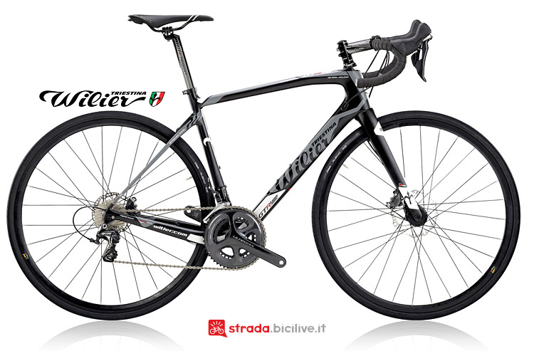 Wilier GTR Team Disc bdc con freni a disco