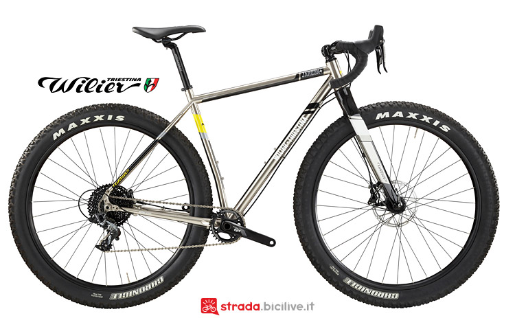 gravel Wilier Jaroon Plus dal catalogo 2017