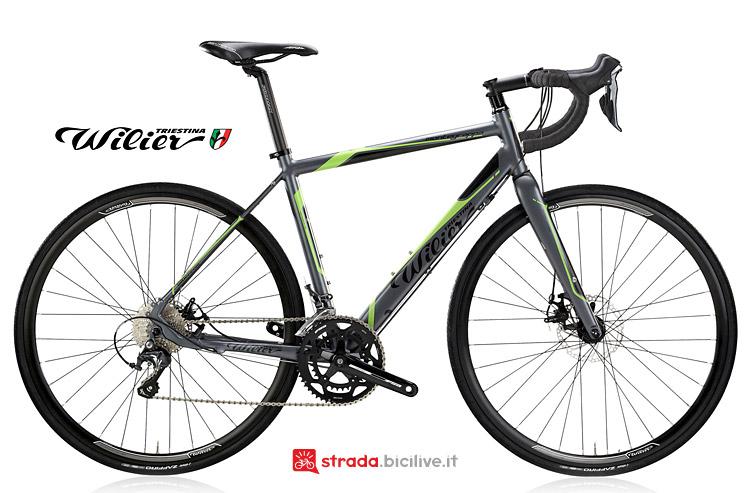 Wilier Montegrappa Disc bici da corsa con freni a disco