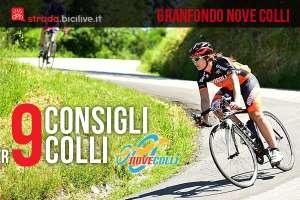 consigli per le salite della granfondo di ciclismo nove colli