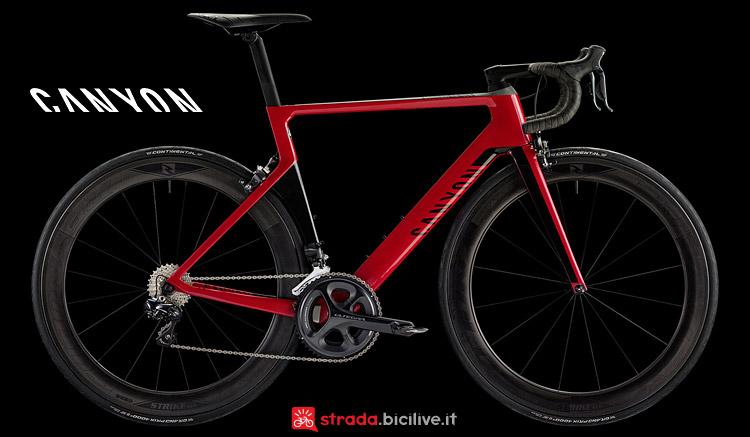 bici da corsa Canyon Aeroad CF SLX 8.0 Di2