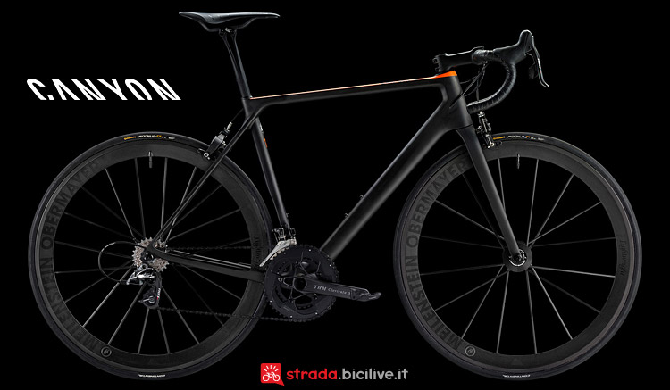 Canyon Ultimate CF Evo 10.0 SL dal catalogo 2017