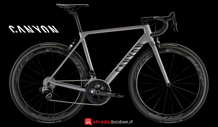 Canyon Ultimate CF SLX 9.0 Aero dal catalogo 2017