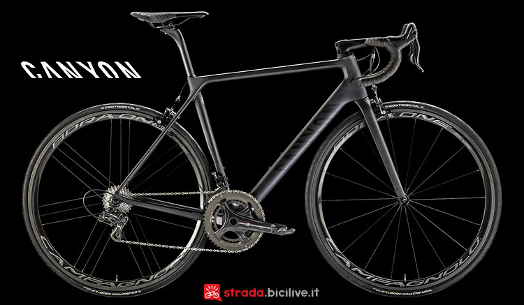 Canyon Ultimate CF SLX 9.0 LTD dal listino 2017