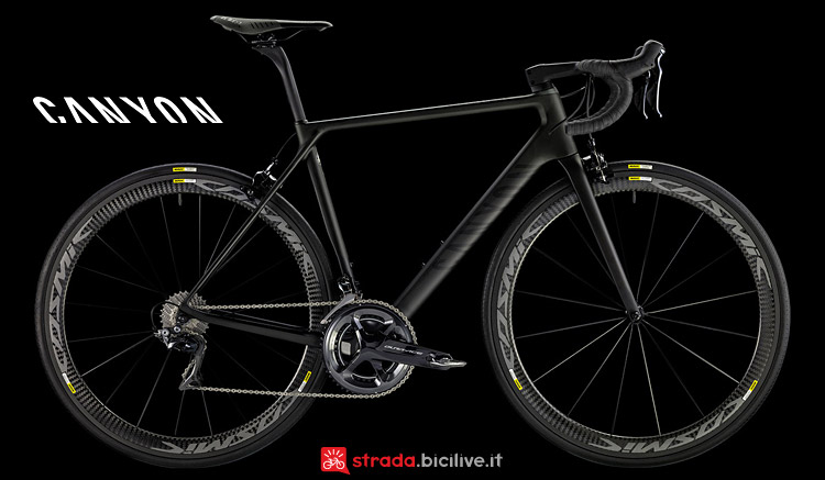 Canyon Ultimate CF SLX 9.0 dal catalogo 2017